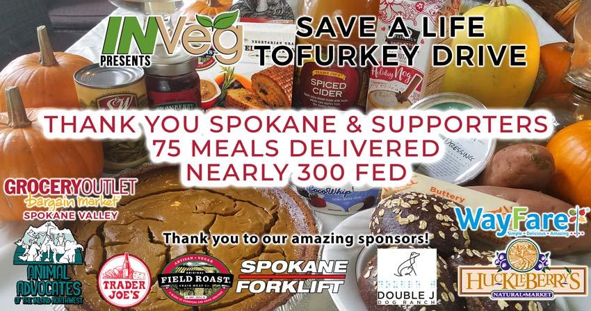 6th Annual Tofurkey Drive Success!!!