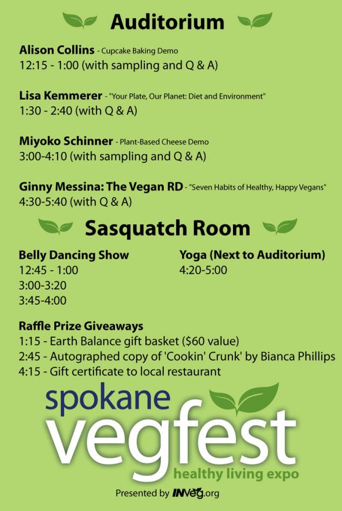 Poster-Schedule-spokane-vegfest-2014